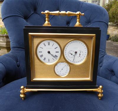 Finished French Elkington clock