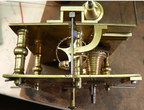 Williamson bracket escapement