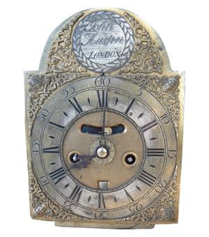 John Austin bracket clock