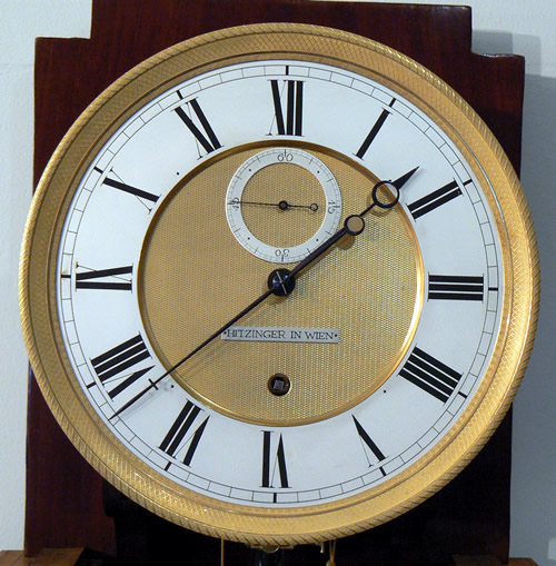 Viennese Laterndl clock dial