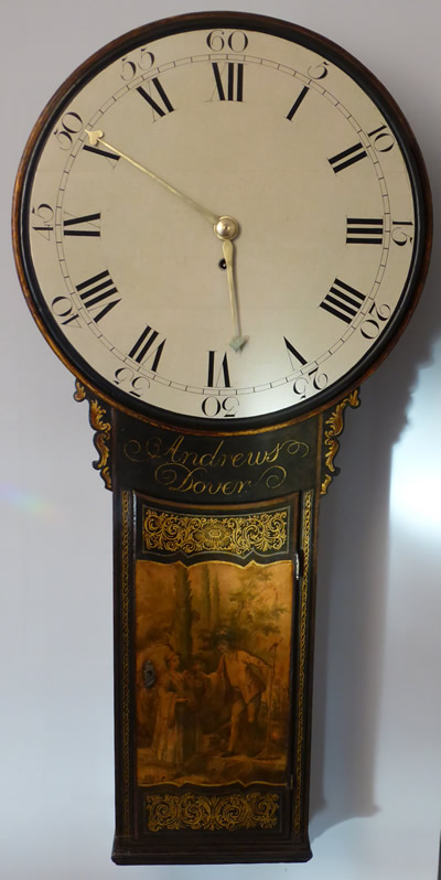 Wall Tavern Clock by Andrews of Dover restored