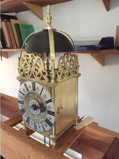 Completed John Knibb Lantern clock