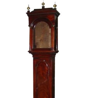 Longcase clock case restoration