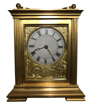 Storr and Mortimer carriage clock