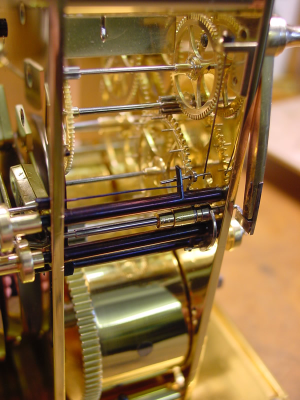 Alternative side view of Paul Garnier movement